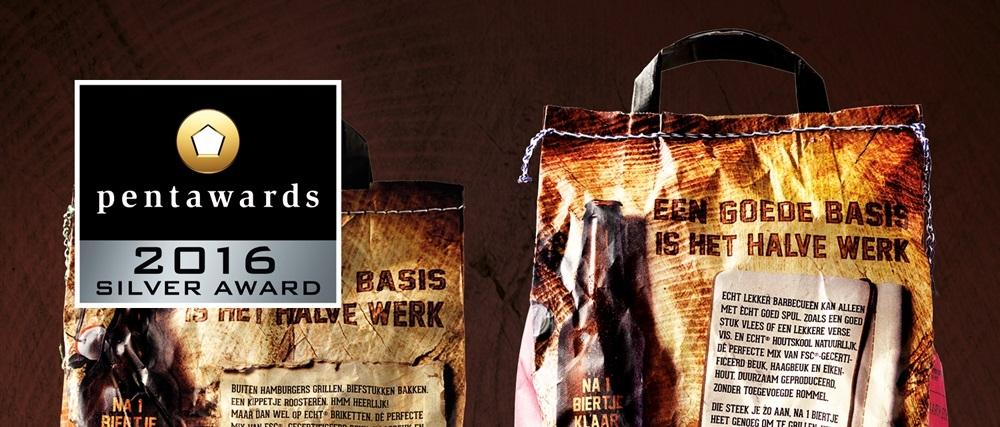 ECHT verpakking wint Zilveren Pentawards #trots