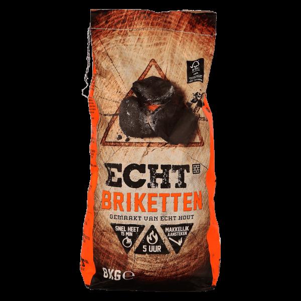 ECHT briketten 8kg FSC 100%