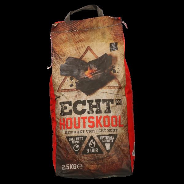 ECHT Houtskool 2.5kg 100% FSC Duurzaam