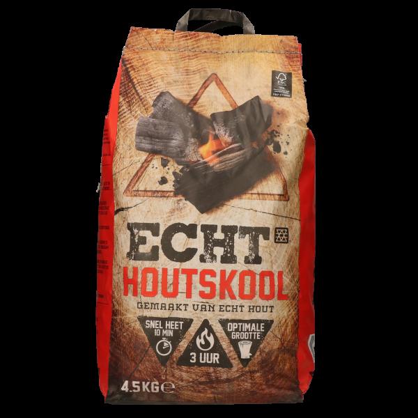 ECHT Houtskool 4.5kg 100% FSC