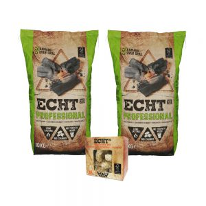 ECHT Professional Combi Deal met gratis Aanmaakhoutwol