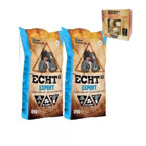 ECHT Expert 12kg Combi Deal met gratis Aanmaakhoutwol