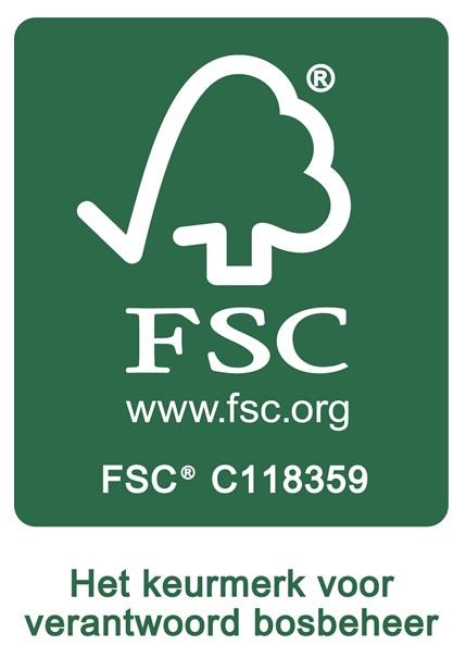 FSC Keurmerk - Duurzame houtskool en briketten