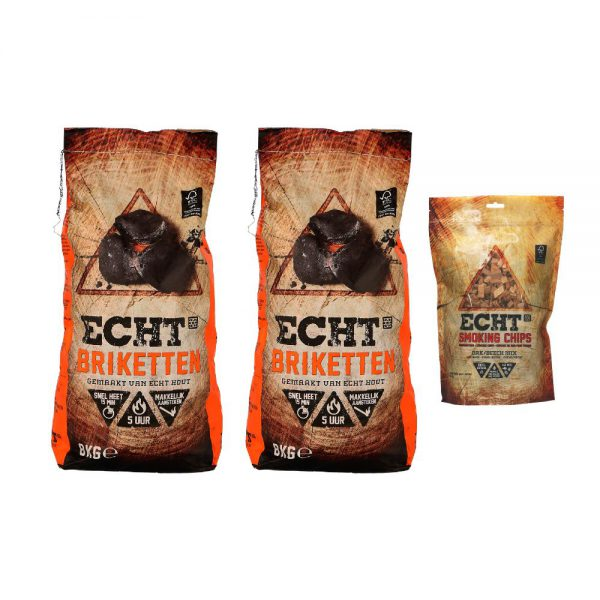 Combi Deal ECHT Briketten & Smoking Chips